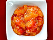 Tomato-Peach Chutney