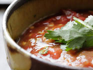 Roasted Tomato and Pepper Salsa found on PunkDomestics.com