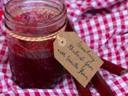 Vanilla Bean Strawberry Rhubarb Jam found on PunkDomestics.com