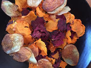 Veggie Chips-Yams,Beets,Carrots & Red Potato found on PunkDomestics.com
