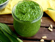 Wild Garlic Pesto found on PunkDomestics.com