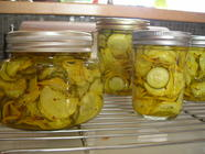 Yellow  & Green Squash Pickles found on PunkDomestics.com