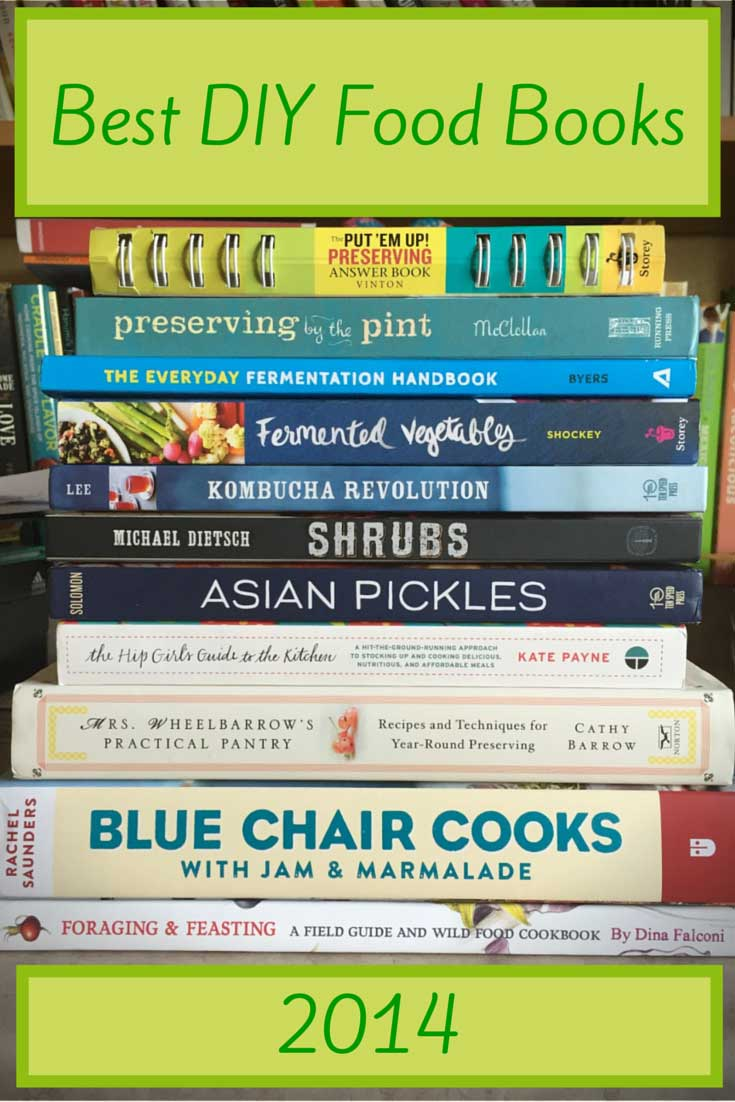 Best DIY Food Books 2014, found on PunkDomestics.com
