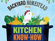 The Backyard Homestead Book of Kitchen Know-How by Andrea Chesman, found on PunkDomestics.com