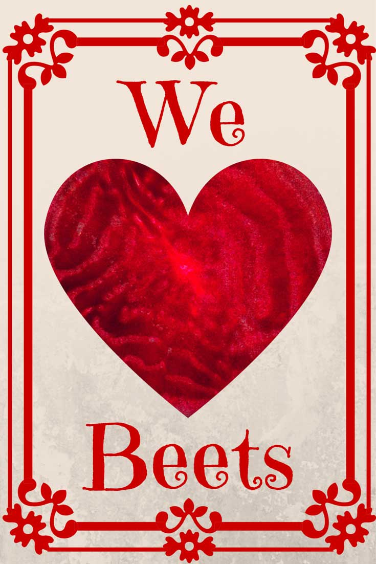 We Heart Beets, found on PunkDomestics.com