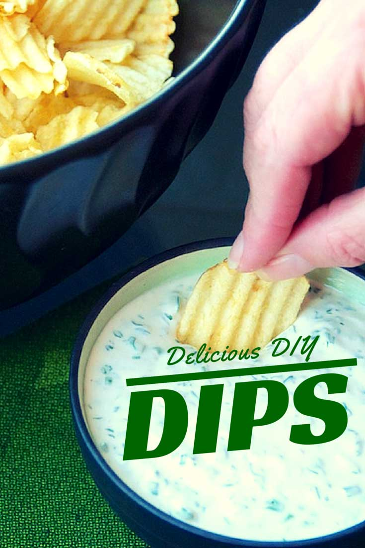 Friends don't let friends serve store-bought dips. Here's a handful of DIY dips for that will keep the chips and crudite diving in, found on PunkDomestics.com