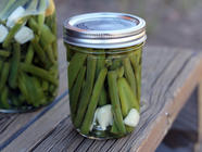 Spicy Pickled Green Beans & Jalapenos found on PunkDomestics.com
