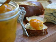 Spicy Mango Persimmon Chutney found on PunkDomestics.com
