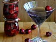 DIY Cocktail Cherries found on PunkDomestics.com