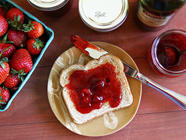 Balsamic Strawberry Jam found on PunkDomestics.com