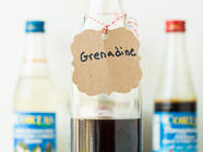 Homemade Grenadine found on PunkDomestics.com