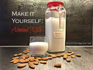 Make It Yourself: Almond Milk found on PunkDomestics.com