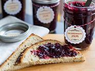 Homemade Marionberry Jam found on PunkDomestics.com