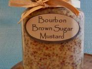 Bourbon Brown Sugar Mustard found on PunkDomestics.com