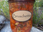 Canning Bruschetta found on PunkDomestics.com