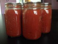 The Fruits of Our Labors: Tomato Canning 2013 found on PunkDomestics.com