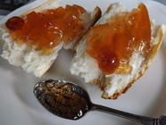 Cranberry Grapefruit Marmalade Recipe found on PunkDomestics.com