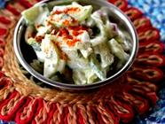 Cucumber Raita  found on PunkDomestics.com