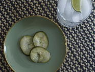 Gin-Pickled Cucumbers found on PunkDomestics.com