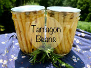 Tarragon Pickled Wax Beans found on PunkDomestics.com