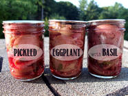 Pickled Eggplant with Basil found on PunkDomestics.com