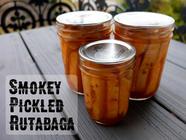 Smokey Pickled Rutabaga found on PunkDomestics.com