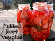 Pickled Root Veggies found on PunkDomestics.com