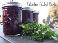 Cilantro Pickled Beets found on PunkDomestics.com