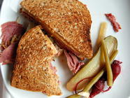 Corned Beef Reubens found on PunkDomestics.com