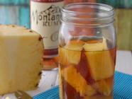 Homemade Pineapple-Infused Rum found on PunkDomestics.com