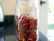 Easy Dried Tomatoes found on PunkDomestics.com