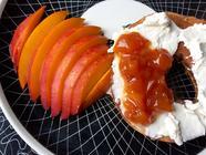 Low-Sugar Nectarine Preserves Recipe found on PunkDomestics.com