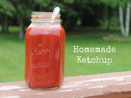 Homemade Ketchup found on PunkDomestics.com