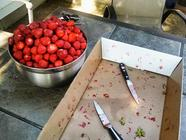 Strawberry Bay Leaf Jam found on PunkDomestics.com