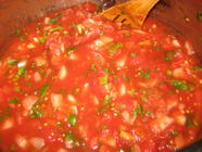 Canning a Basic Homemade Salsa found on PunkDomestics.com