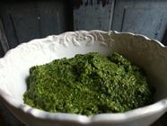 Minty Pea Pesto found on PunkDomestics.com