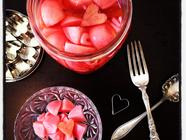 Pretty in Pink Pickled Radishes found on PunkDomestics.com