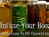 Infuse Your Booze! A Complete Guide. found on PunkDomestics.com