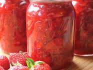 Strawberry Freezer Jam found on PunkDomestics.com