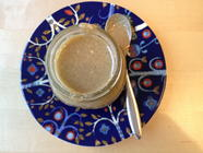Make It Yourself:  Homemade Tahini found on PunkDomestics.com