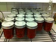 Simple, Easy, Strawberry Jam found on PunkDomestics.com