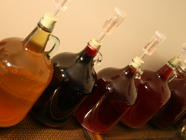 Small Batch Homemade Fruit Wines  found on PunkDomestics.com