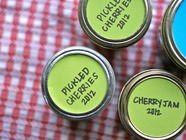 Pickled Cherries found on PunkDomestics.com