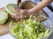 Brine-Fermented Sauerkraut found on PunkDomestics.com