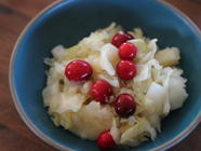 Cran-Apple Kraut found on PunkDomestics.com