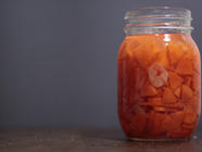 Fermented Carrots with Garlic found on PunkDomestics.com
