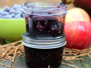 Blueberry Apple Jam found on PunkDomestics.com