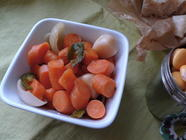 Fermentation 102: Italian Antipasto Veggies found on PunkDomestics.com