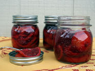 Lacto-Fermented Blood Oranges found on PunkDomestics.com