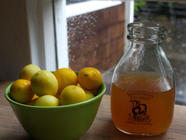 Limequat Honey Syrup found on PunkDomestics.com